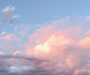 clouds, heart, and indie image
