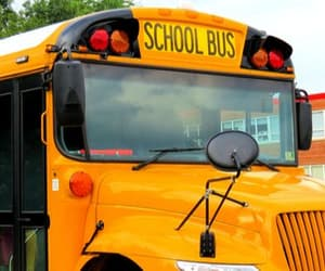 school bus and school management system image