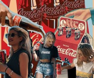 cocacola, graphic design, and photo editing image