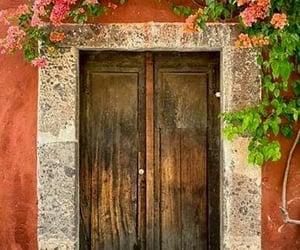 door, vintage, and life image