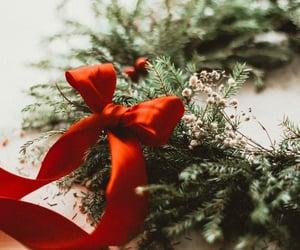 bow, christmas, and holiday image