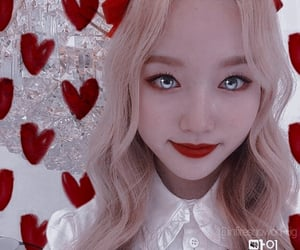 kpop, loona gowon, and kpop edit image