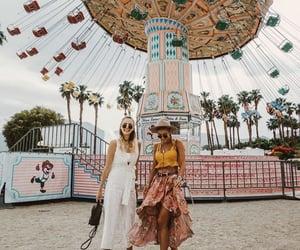 girl, coachella, and fashion image