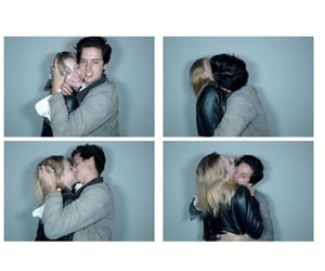 cole sprouse, lili reinhart, and love image