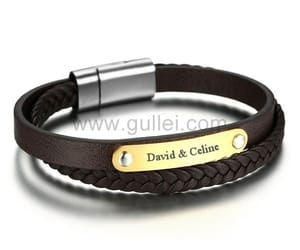 gullei.com, mens bracelets, and valentines gift image