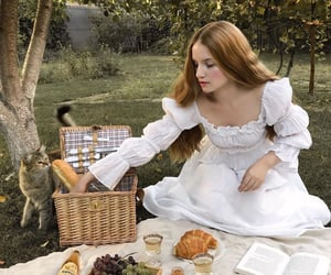 beauty, photo, and picnic image
