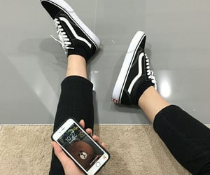 aesthetic, pinterest, and black image