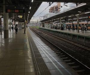 station, mitaka, and japan image