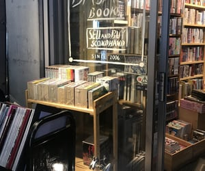 book store, books, and japan image