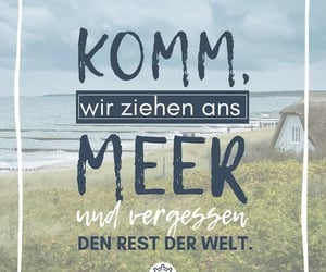 blue, zitat, and spruch image