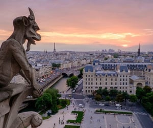 cities, paris, and places image