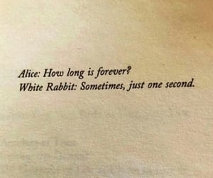 quotes, alice, and forever image