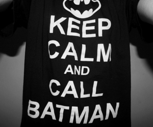 batman, keep calm, and photography image