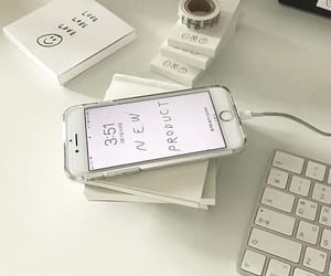 white, aesthetic, and iphone image