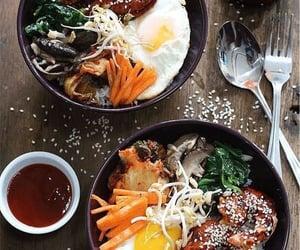 food and korean image