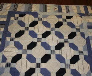 etsy, dads shirts quilt, and dress shirt quilt image