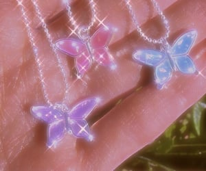 aesthetic, 90's, and butterflies image
