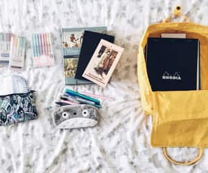 article, college, and backpack image