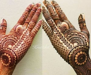 dp, girly, and henna image