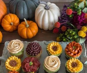 cupcake, fall, and autumn image