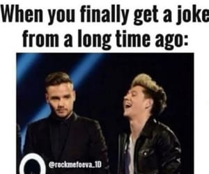 liam payne, niall horan, and one direction memes image