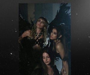 sweetener, lana del rey, and don't call me angel image