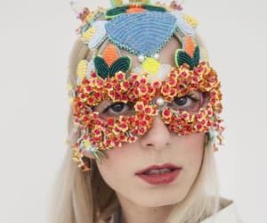 Burning Man, etsy, and masquerade mask image