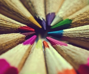pencil, colorful, and color image