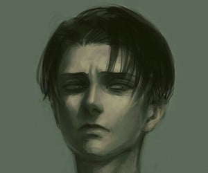 dark, levi, and mad image