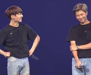 bts, kim namjoon, and jeon jungkook image