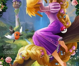 pokemon, rapunzel, and jolteon image