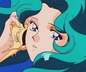 anime, neptune, and magical girl image