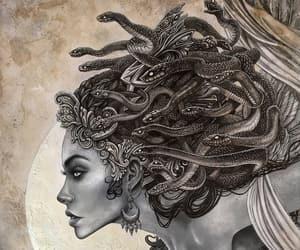 beauty and medusa image