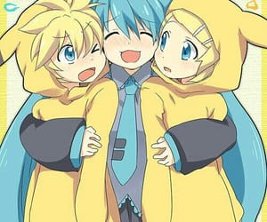 anime, pikachu, and vocaloid image