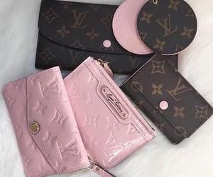Louis Vuitton, pink, and designer image
