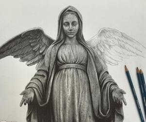arte, ángel, and belleza image