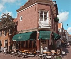 amsterdam, cafe, and netherlands image