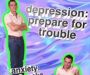 anxiety, funny, and hilarious image