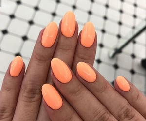 cool, nails, and orange image
