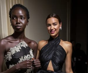 black, irina shayk, and design image