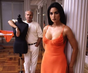 monica bellucci, Versace, and monica image
