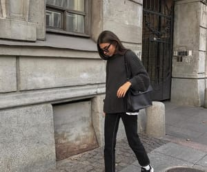 fall, fashion, and grey image
