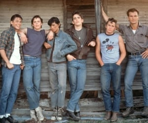 the outsiders, Tom Cruise, and emilio estevez image