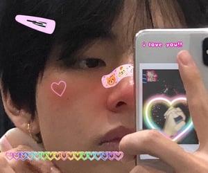 bts, kim taehyung, and messy edit image