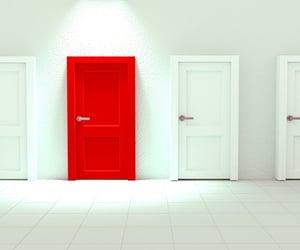 aesthetic, door, and doors image
