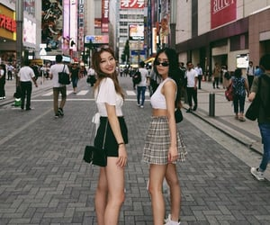asia, asian fashion, and friendship image
