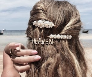 hair, hairstyle, and heaven image