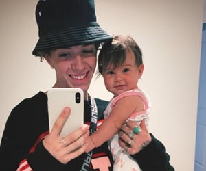 father and child, zach herron, and why don't we image