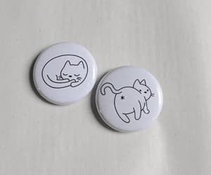 cat, etsy, and pins image