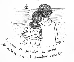 amor, textos, and couples image